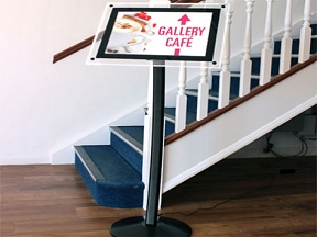 Illuminated Menu Display
