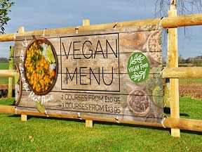 Vegan Food Banners