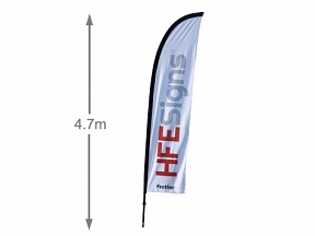 Feather Flag 4.7m