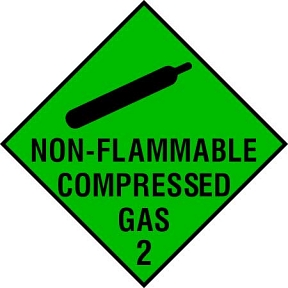 Compressed Gas 2 Non-Flammable