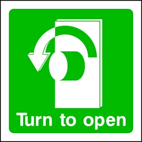 Turn L to Open (SQ)
