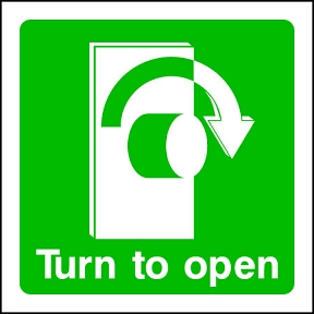 Turn R to Open (SQ)