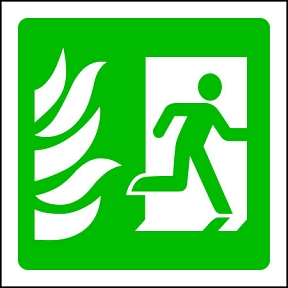 Fire Exit R (SQ)