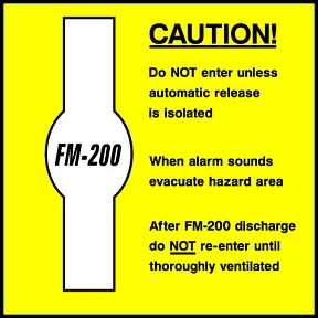 Caution FM200