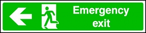 Wide Emergency Exit (left)