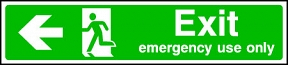 Emergency Only (left)
