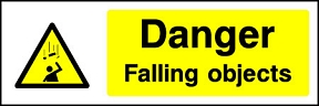 Falling Objects Signs