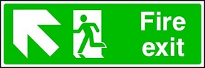Fire Exit (up-left)