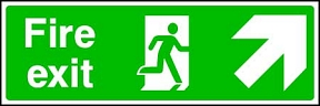 Fire Exit (up-right)