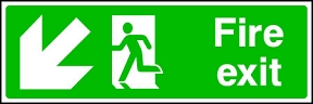 Fire Exit (down-left)