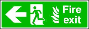 Fire Exit Flame (left)
