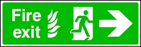 Fire Exit Flame (right)