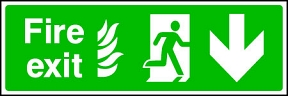 Fire Exit Flame (down)