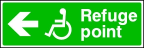 Disabled Refuge (Left)