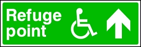 Disabled Refuge (Ahead)
