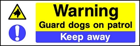 Guard Dogs Keep Away