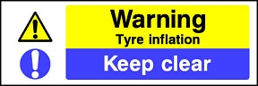 Tyre Inflation Keep Clear