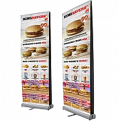 Double Sided Budget Roll up Banners