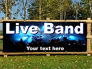 Live Band Banners