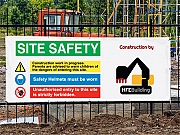 Construction Site Banners