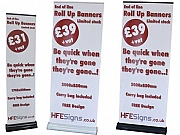 Clearance Roller Banners