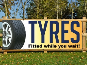Tyre Trade Banners