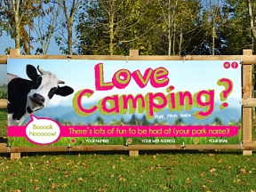 Campsite Banners