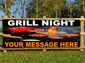 Grill Night Banners