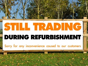Refurbishment Banners