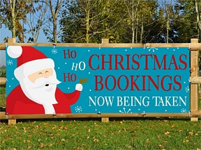 Christmas Bookings Banners