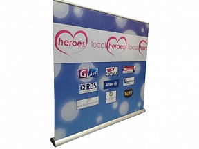 Wide Roll up Banners